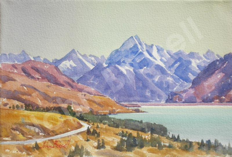 New Zealand paintings
